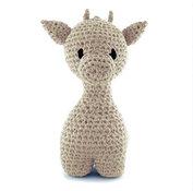 Giraffen Ziggy - sandy ecru, maxigurumi