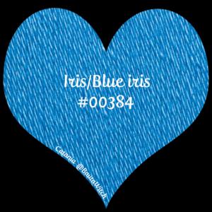 Catania - blue iris 384