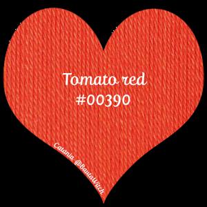 Catania - tomato red 390