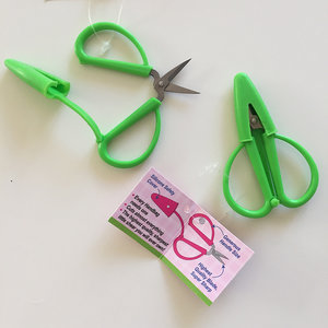 Minisax för handväskan - grön