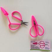 Minisax för handväskan - rosa