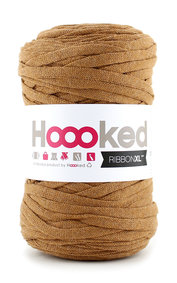 Hoooked Ribbon XL - caramel brown