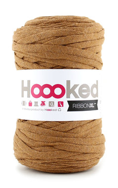 Hoooked Ribbon XL - caramel brown