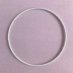 Metallring 15 cm, vit
