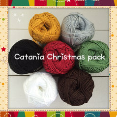 Catania 7-pack med julens färger
