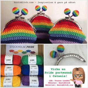 Materialkit till Pride portmonnä
