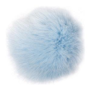 Pälstofs - ljusblå strlk M