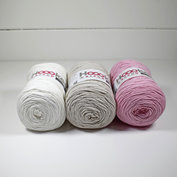 Hoooked Ribbon XL 3-pack, Vintage rosa