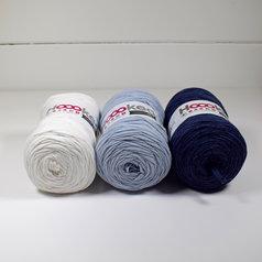 Hoooked Ribbon XL 3-pack, Blå