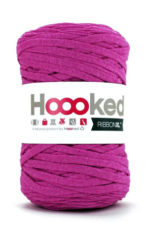 Hoooked Ribbon XL - crazy plum