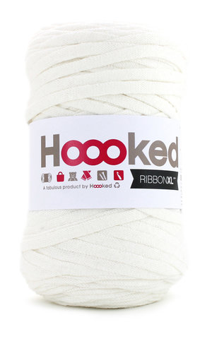 Hoooked Ribbon XL - pearl white