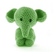 Elefanten Moo - salad green, maxigurumi