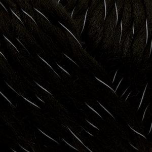Reflexgarn - svart