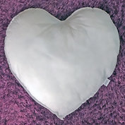 Hjärtformad innerkudde