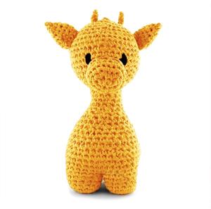 Giraffen Ziggy - lemon yellow, maxigurumi