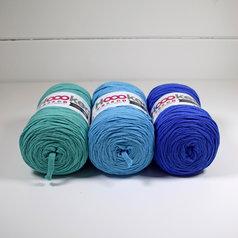 Hoooked Ribbon XL 3-pack, Medelhav