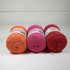 Hoooked Ribbon XL 3-pack, Färgglad