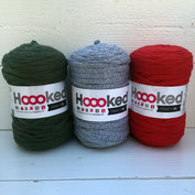 Hoooked Ribbon XL 3-pack, Jul i silver