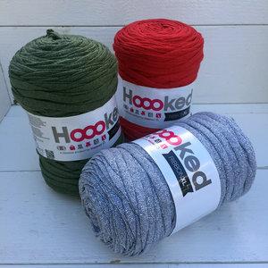 Hoooked Ribbon XL 3-pack, Jul i silver