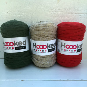 Hoooked Ribbon XL 3-pack, Jul i guld