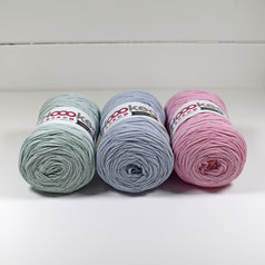 Hoooked Ribbon XL 3-pack, Pastell