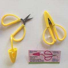Minisax för handväskan - gul