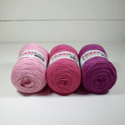 Hoooked Ribbon XL 3-pack, Rosa