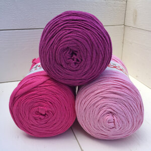 Hoooked Ribbon XL 3-pack, Rosa