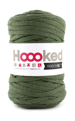 Hoooked Ribbon XL - olive green