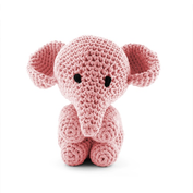 Elefanten Moo - sweet pink, maxigurumi